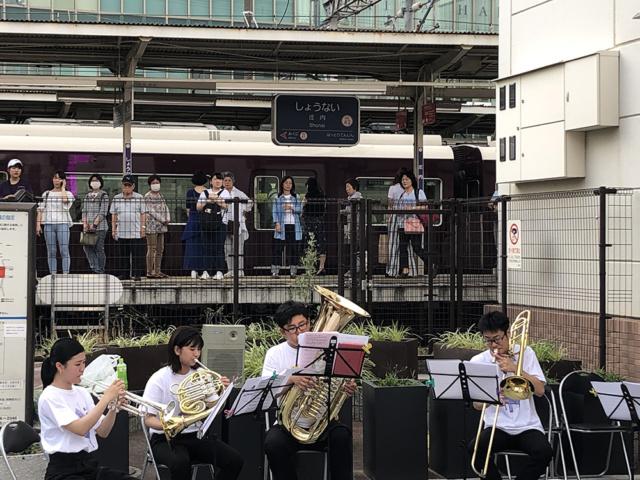 庄内駅前音楽コンサート
